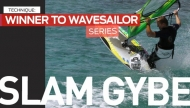 Windsurfing Technique | Slam Gybe
