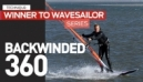 Windsurfing Technique | Back-Winded 360