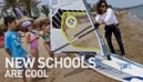 New Schools are Cool  |  Setting up a Windsurfing Center