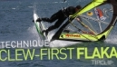 Windsurfing Freestyle Technique | Clew First Flaka